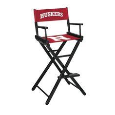 University of Nebraska Bar Height Directors Chair