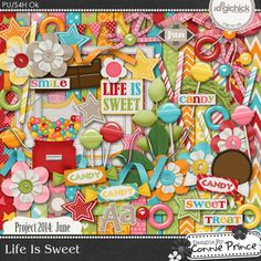 Designs by Connie Prince  Project June 2014  Life Is Sweet