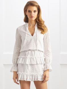 Sukienka Saline w kolorze białym