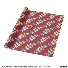 DANCING PATTERN : Holiday Decorative Gift Wrap