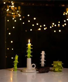 Birthday Candles, Christmas Crafts, Table Decorations, Furniture, Home Decor, Decoration Home, Room Decor, Home Furnishings, Home Interior Design