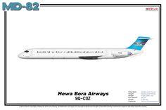 McDonnell Douglas MD-82 - Hewa Bora Airways