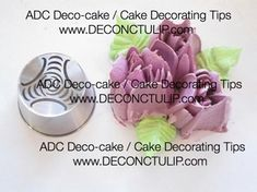 ADC Russian nozzle - Malaysian style Tip Russian Cake Decorating Tips, Russian Nozzles, Russian Piping Tips, Russian Cakes, Icing Frosting, New Cake, Fashion Cakes, Cake Style, Frostings