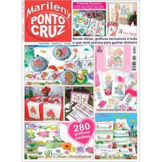 Revista Marileny Ponto Cruz 14 / Magazine Marileny Cross Stitch 14 visit www.marileny.net
