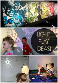 art criativa Light Play Ideas - Racheous - Re - art Reggio Inspired Classrooms, Reggio Classroom, Luz Artificial, Reggio Emilia Approach, Local Art Galleries, Licht Box, Shadow Play, Rainbow Art, Light Reflection