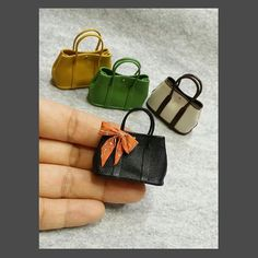 Miniature Bags ♡ ♡ My Dollhouse