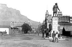 Adderley Street, Cape Town ca. Cape Town South Africa, Most Beautiful Cities, African History, Old Photos, Vintage Photos, Live, Places To Visit, Street, Pictures