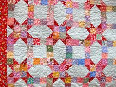 A time out for the children for now as, at my dear neighbor Sharon's request, I show how to make this Shuttle pattern.  I originally saw th...