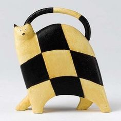 Govinder Chequered ( Catwalk) Figurine Ornament Statue new tracked Animal Sculptures, Beautiful Cats, Cat Art, Cat Lovers, Fine Art, Statue, Painting, Animals, Ornament