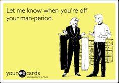 Man period