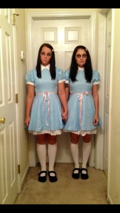the grady twins from the shining nailed it - The Shining Halloween