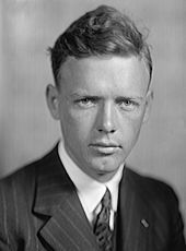 Charles Augustus Lindbergh--(February 4, 1902 – August 26, 1974), nicknamed Slim, Lucky Lindy, and The Lone Eagle, was an American aviator, author, inventor, military officer, explorer, and social activist. In 1927, at the age of 25, Lindbergh emerged from the virtual obscurity of a U.S. Air Mail pilot to instantaneous world fame as the result of his Orteig Prize-winning solo nonstop flight from Roosevelt Field on New York's Long Island to Le Bourget Field in Paris, France.