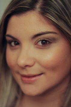 Um registo fotográfico da Teresa do resultado final, durante o desenvolvimento do projeto 100 mulheres/100 maquilhagens.