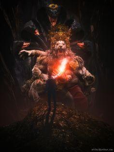 Lord Vishnu, Photo, Illustration, Art Drawings, Photo Manipulation, Image, Krishna Images, Art, Mythology
