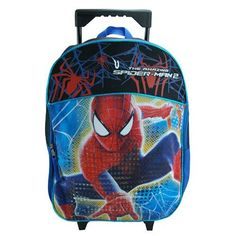 Fast Forward Little Boys' Spiderman Roller Backpack -- Visit the image link more details. (This is an Amazon Affiliate link and I receive a commission for the sales)