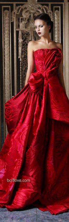 Rami Kadi Couture Fall 2012 - 2013 ... ♚ ℰℓℯℊaηḉℯ ♚  http://pinterest.com/cindylouisem/elegace/   Designer Evening Wear http://pinterest.com/bcr8tive/designer-evening-wear/
