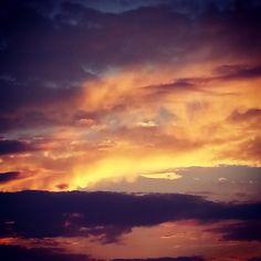 Autumn sunsets
