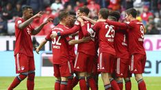Bayern Munich edged nearer another Bundesliga title with a victory against bottom club Hannover at the Allianz Arena. Football Squads, Thomas Muller, Robert Lewandowski, Referee, Latest Sports News, Vizsla, Goalkeeper, Champions League, Premier League