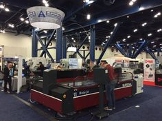 Our stand at Houstex 2015