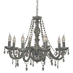 Searchlight 8698-8GY Marie Therese 8 Light Chandelier
