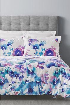 Simply Vera Vera Wang Viola 300tc Cotton Sateen Quilt Cover Set  QB