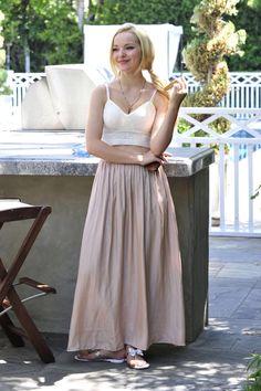 Beautiful as Ever Dove Cameron. I like the top she is wearing. Sal Peyton