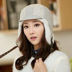 Winter bomber hat for girls warm ear flap hat 1739372b1ea2