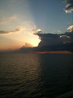 #sunset #Freeport #Bahamas.
