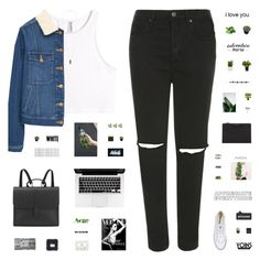 """""""WHITE // yoins #19"""" by c-hristinep ❤ liked on Polyvore featuring H&M, Topshop, MANGO, Converse, Acne Studios, NARS Cosmetics, Sephora Collection, Givenchy, Boskke and Danielle Foster"""