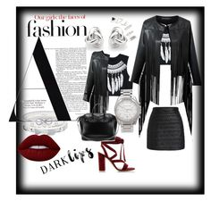 You could never go wrong with this color! by sheika214 on Polyvore featuring polyvore, fashion, style, WithChic, Gianvito Rossi, Givenchy, Michael Kors, Georgini, Cartier, Bling Jewelry, Topshop, Lime Crime and clothing