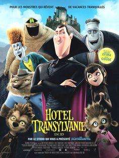 Hôtel Transylvanie Film de Genndy Tartakovsky, les voix de Serge Faliu, Virginie Efira, Alex Goude. Bienvenue au somptueux Hôtel de Dracula.
