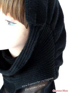 Привет всем! Связала шарф-снуд из белорусской пряжи в бобинах. Очень легкий! Понравилось самой, что и не садится после стирки, и не красится. Вот в разных ракурсах фотографии.