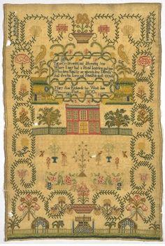 antique samplers patterns