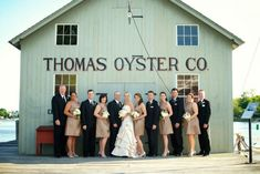 Mystic Seaport is an amazing waterfront wedding venue and perfect if you are thinking about having a nautical themed wedding.  The boardwalk is beautiful, you'll get some amazing pictures on it.