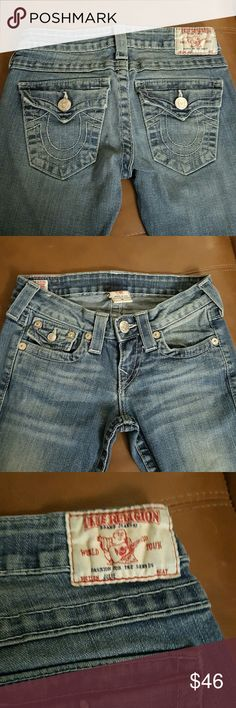 True Religion Jeans Slim and Tall Skinny/straight leg Slightly stretch  Great condition True Religion Jeans