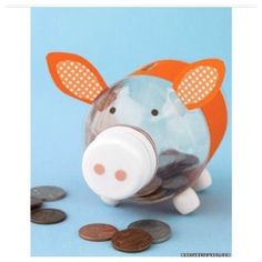 "DIY - Super Cute ""Piggy Bank"""