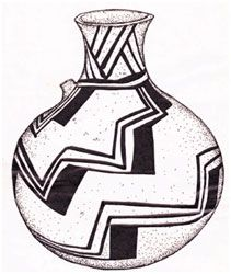 Botella cultura Aconcagua, trinacrio Medieval, Vase, History, Russian Embroidery, Bottle, Foot Prints, Vases, Chinese, Culture
