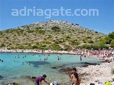 Sandy beaches - A guide to the beaches - Lojena beach, North Dalmatia, Sibenik riviera, Murter - island Murter, sandy and pebble beach