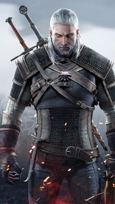 the witcher 3 geralt - Google Search