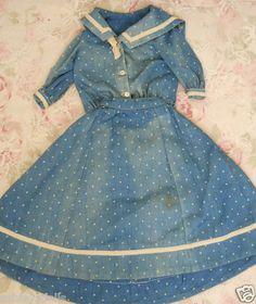 calico doll dress