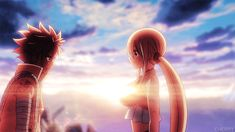 """Manga Cosplay mycherryqueen: """"Nalu ending in both Fairy Tail movies"""" - Natsu Fairy Tail, Fairy Tail Lucy, Fairy Tail Ships, End Fairy Tail, Fairy Tail Keys, Fairy Tail Movie, Fairy Tale Anime, Fairy Tail Family, Fairy Tales"""