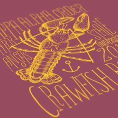 Kappa Alpha Order - KA - Arkansas State University KA - Crawfish Boil Design - Fraternity Tshirts - Check out b-unlimited.com!