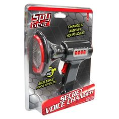 Spy Gear Secret Voice Changer- Christmas idea Spy Gear, Dessert Food, Your Voice, Ds, Gears, David, Christmas, Spy Equipment, Dessert