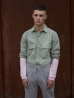 Update your layer game by mixing washed out tones on washed out tones.