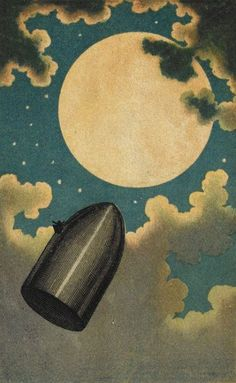 Henri de Montaut, De la terre à la lune (From the Earth to the Moon), 1865-1872