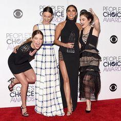Ashley, Troian, Shay, & Lucy