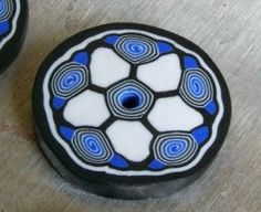 Ollivine Z Creations: Polymer clay tutorial: flower & spiral cane