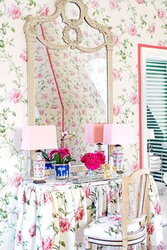 You Know Your Decorating Style Is Girly When...  - HouseBeautiful.com