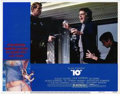 US lobby card 1979 Adam Henry, Tony Adams, Blake Edwards, Bo Derek, Comedy, Cards, Comedy Theater, Maps, Playing Cards