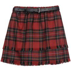 DOLCE & GABBANA Mini skirt ($417) ❤ liked on Polyvore featuring skirts, mini skirts, bottoms, grunge, women, red tartan skirt, plaid skirt, short skirts, red skirt and stretch mini skirt